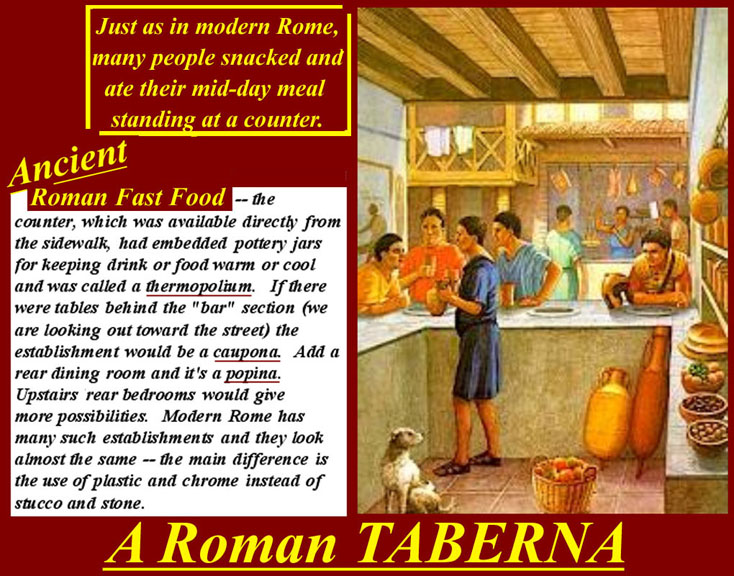 House of smichi world 39 s art history the romans 39 taberna for Ancient roman cuisine history