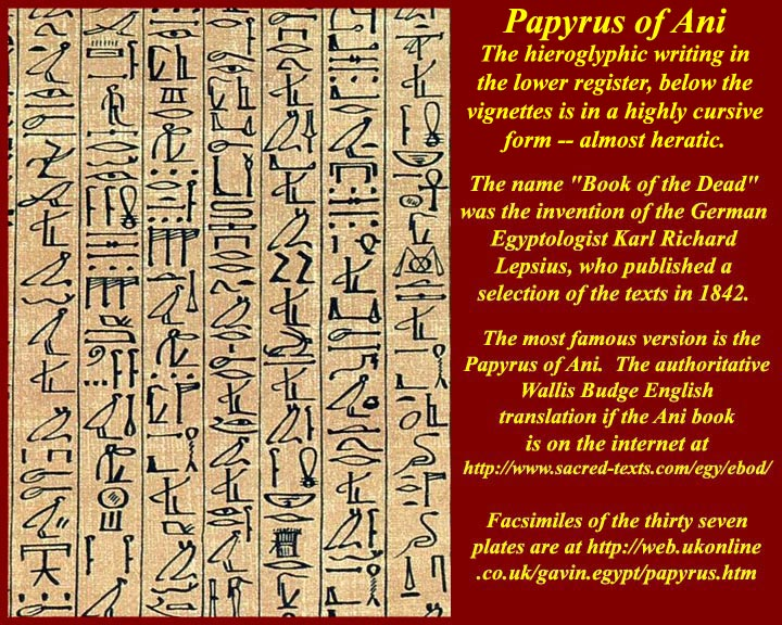 Unit 3: Egyptian Writing -- hieroglyphic, hieratic, demotic