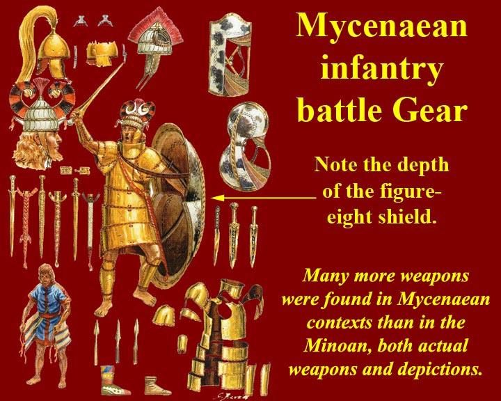 relationship between minoans and mycenaeans