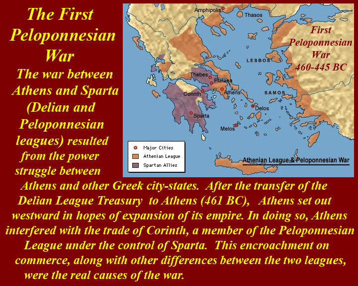 the background of the peloponnesian war between the city states of athens and sparta Fought between the allies of sparta and the empire of athens, the crippling peloponnesian war paved the way for the macedonian takeover of greece [see philip ii of macedon] and alexander the great's empire.