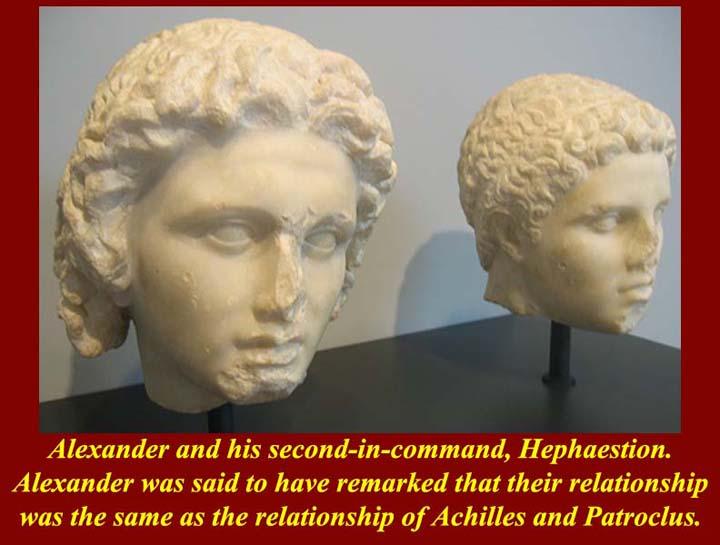 hephaestion alexander relationship