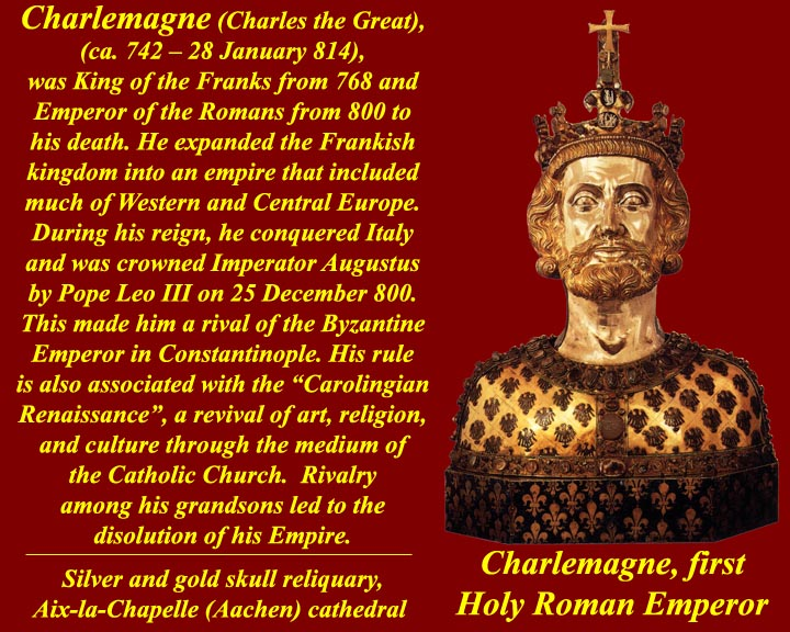 the life and reign of charlemagne He served charlemagne from the beginning of the 790s until the emperor's death in 814, then remained in the court of charlemagne's son and successor louis until the end of the 820s like the rfa , einhard's life provides a courtly and contemporary perspective on the age of the saxon war.