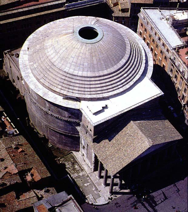 Pantheon church of st for Esterno pantheon