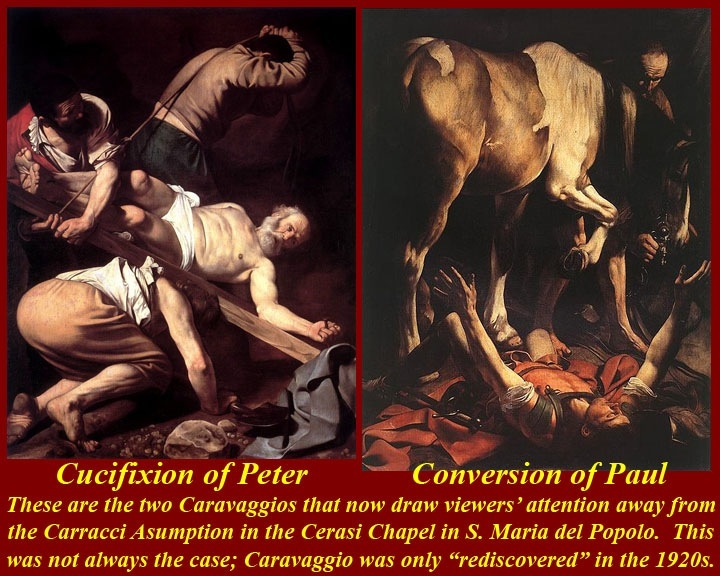 http://www.mmdtkw.org/RenRom0720-CaravaggioCrucifixionConversionSMPopolo1601.jpg