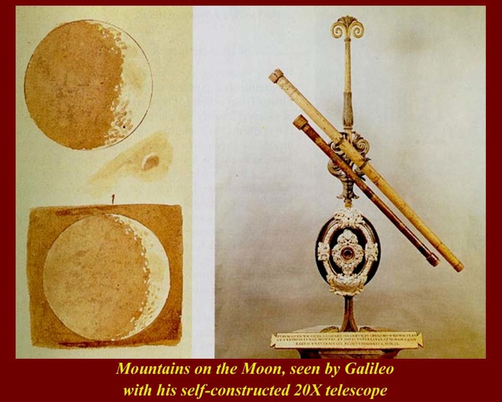 a biography of galileo galilei the inventor of the telescope Galileo's ink renderings of the moon: the first telescopic observations of a celestial object in 1609 an italian physicist and astronomer named galileo became the first person to point a telescope skyward.